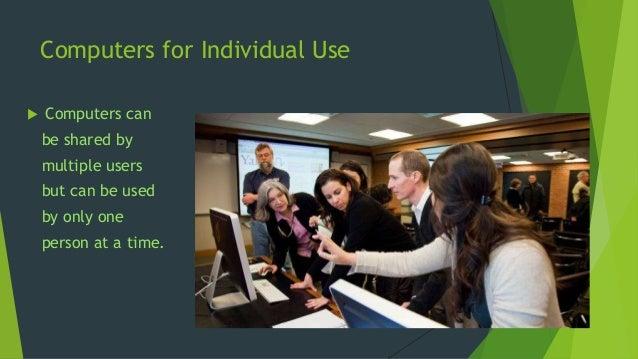 Uses of computers Slide 3