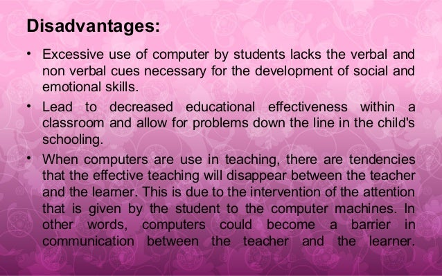 expanding the use of technology in the classroom essay The pros and cons of technology in the classroom by yvette cardenas on prezi  the disadvantages of technology in classroom education - college essay.