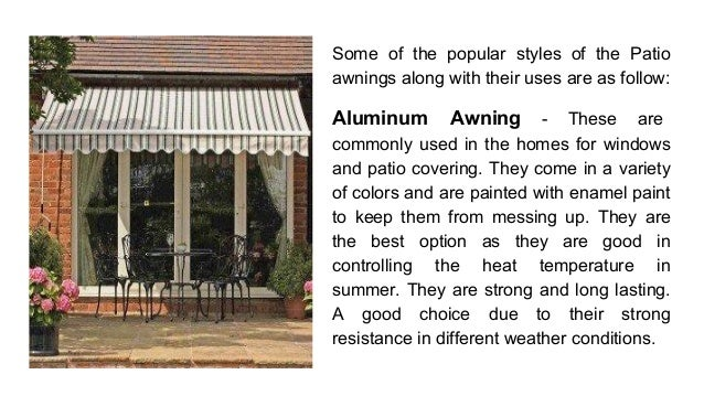 Shade your patio with a DIY Awning!