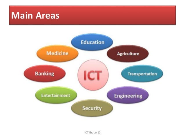 Uses Of Ict In Society
