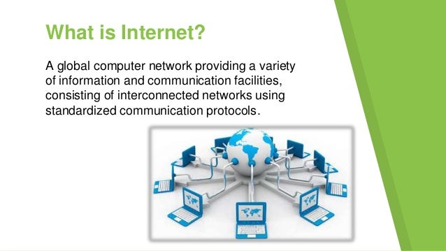 """""""The term Internet, when used to refer to the specific global system of interconnected Internet Protocol (IP) networks, is..."""