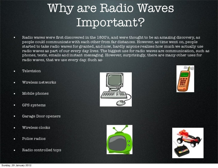 Uses Of Radio Waves