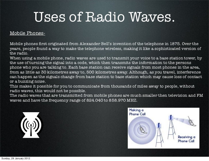 Uses of radio waves
