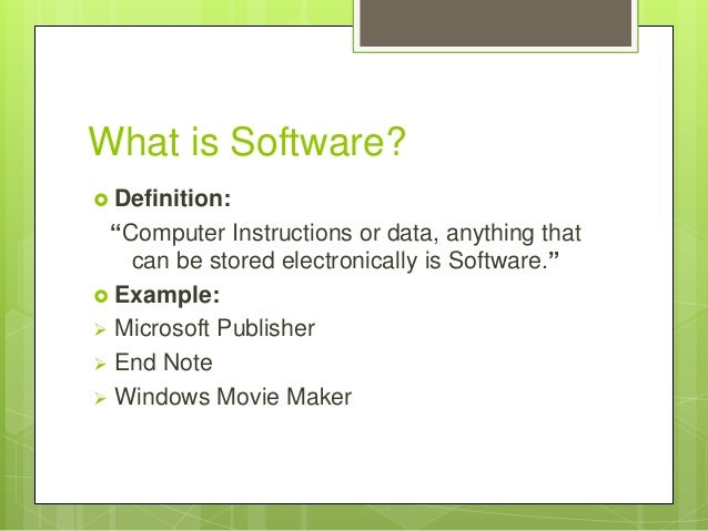 Uses Of Software Packages In Different Areas