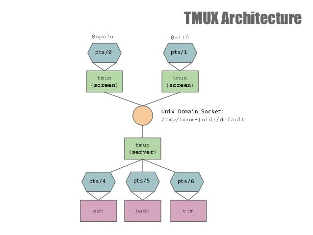Uses of tmux explained