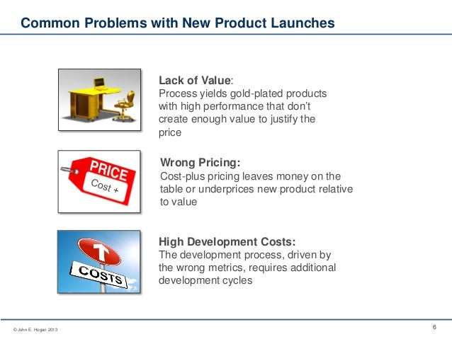 Use value based design to drive new product success for General motors pricing strategy