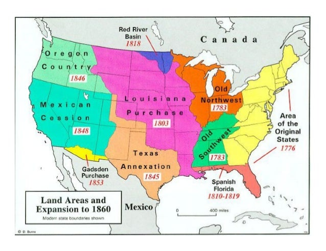 Us expansion map