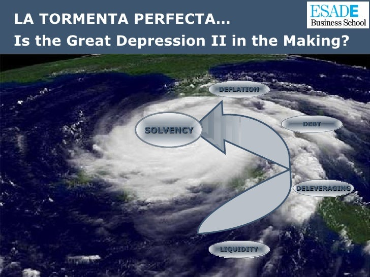US FINANCIAL CRISIS: Is the Great Depression II in the Making? LA TORMENTA PERFECTA… Is the Great Depression II in the Mak...