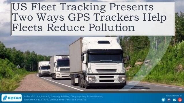 Us Fleet Tracking Presents Two Ways GPS Trackers Help Fleets