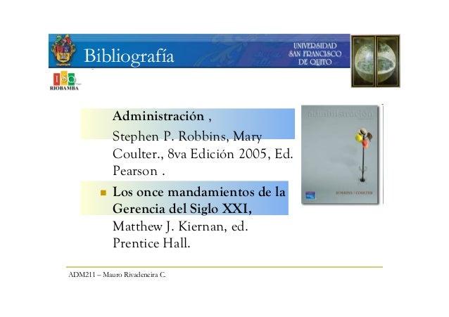 USFQ Principios de Administración 2009 - photo#6