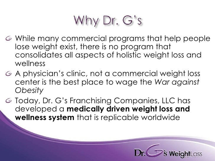 Dr G S Weight Loss Amp Wellness Franchise Opportunity