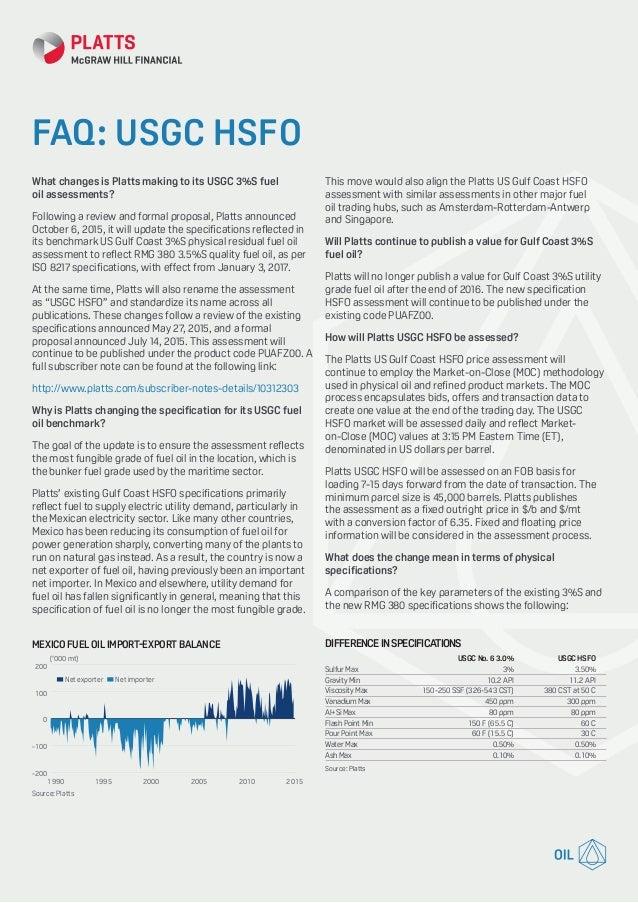Usgc fuel-oil-faq PLATTS