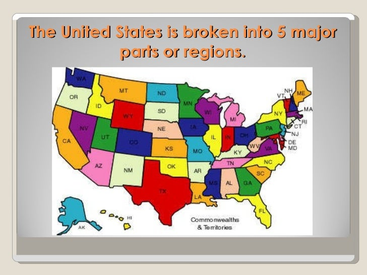 US Geography Powerpoint - Major physical features of united states