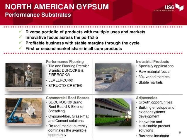 Usg investor presentation july 2013 for All american exterior solutions