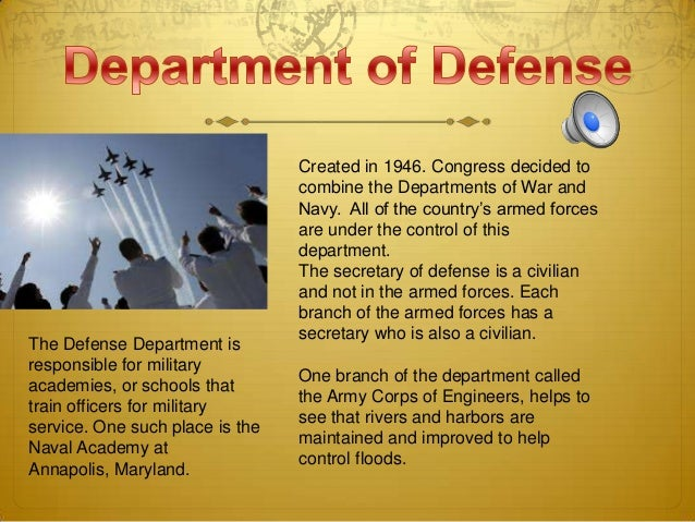 16. The Defense Department ...