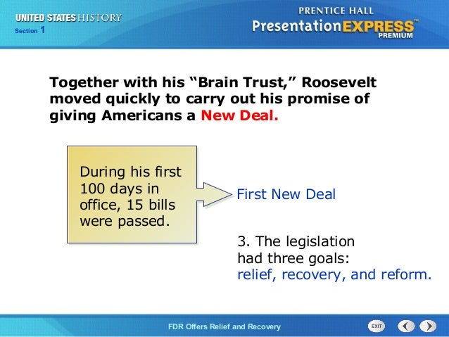 were roosevelt s new deals responsible getting united stat Such a statement seemed ridiculous given the fact that the united states was at  the very depths of the great depression at the time what franklin roosevelt, of.