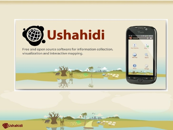 What is Ushahidi? Open source software for information collection, visualization and interactive mapping. The Android app ...