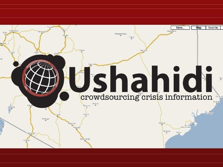 crowdsourcing crisis information