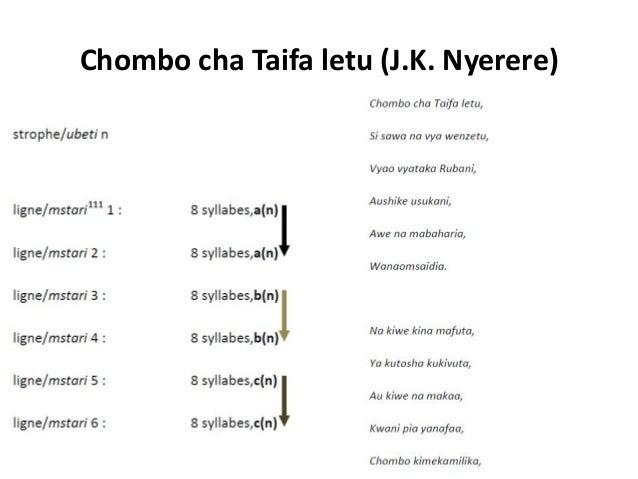 Ushairi wa Kiswahili kuanzia karne ya 16 mpaka karne ya 20