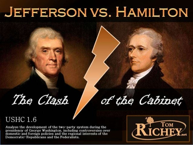 the differing views of thomas jefferson and james madison on foreign policy