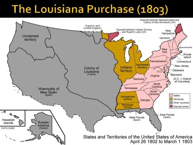 Territorial Acquisitions USHC - Us territorial acquisitions