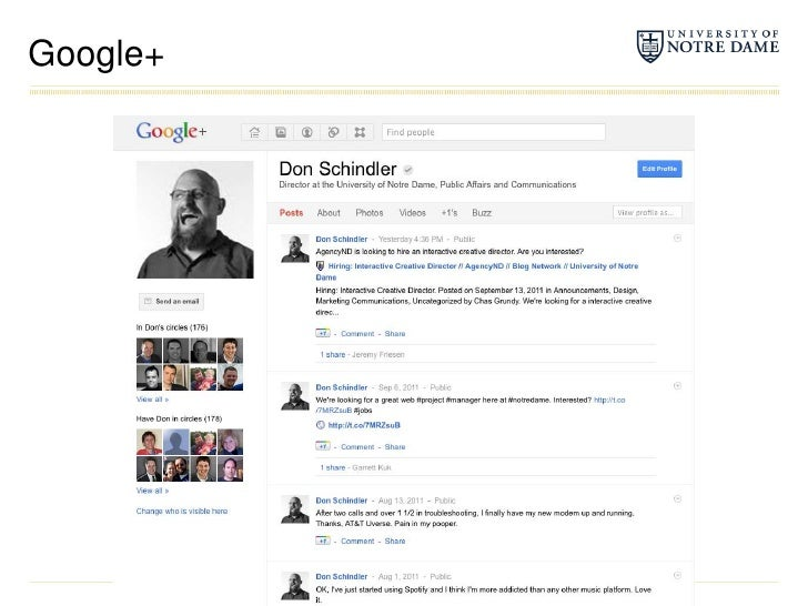 Google+<br />