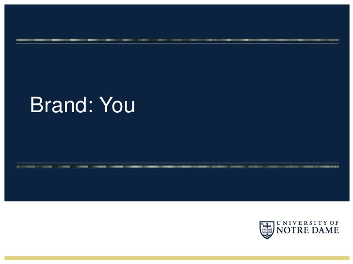 Brand: You<br />
