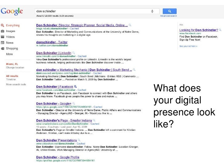 What does your digital presence look like?<br />
