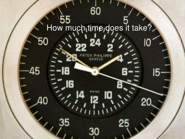 How much time does it take?<br />
