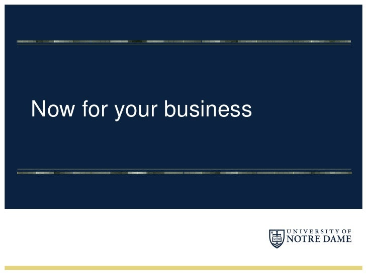 Now for your business<br />