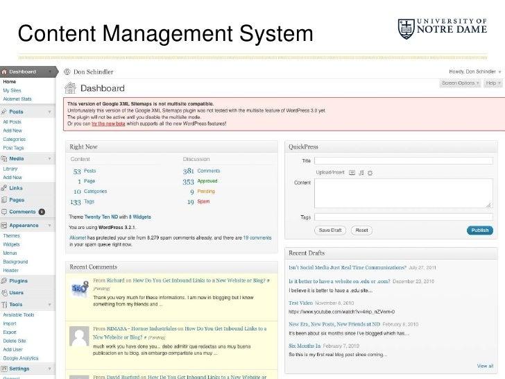 Content Management System<br />