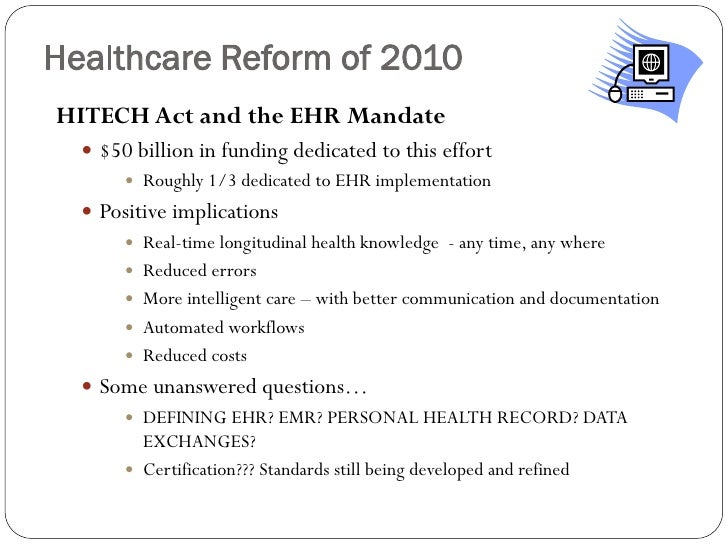 a discussion on the significance and effects of the affordable healthcare act What you should know about the affordable care act how health reform affects you by michael bihari, md most of the aca's provisions took effect in 2014 healthcaregov read the affordable care act internal revenue service.