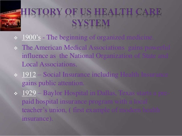 Us health care system