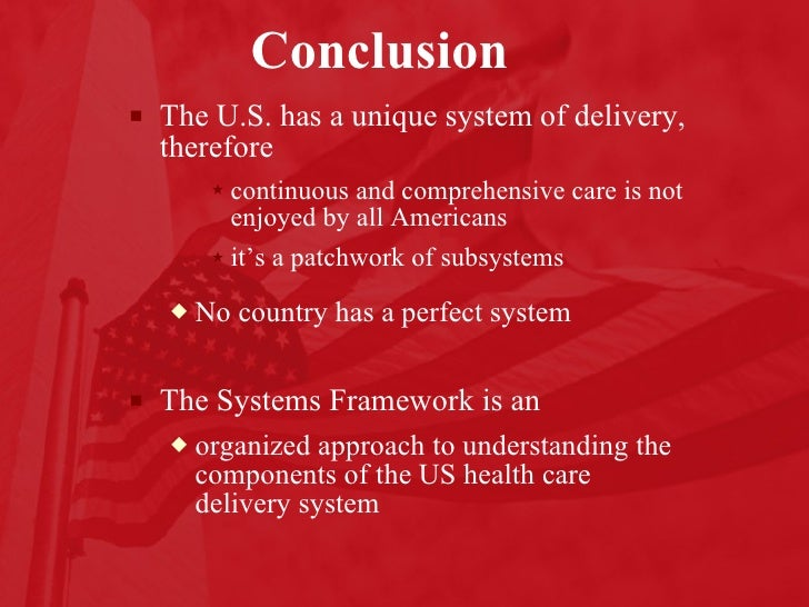 the different perception of the us healthcare system
