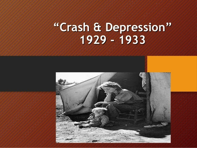 the great depression from 1929 to 1933 essay The great depression was a severe worldwide economic depression that took place mostly during the 1930s, beginning in the united statesthe timing of the great depression varied across nations in most countries it started in 1929 and lasted until the late-1930s.