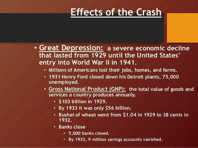 effects of economic depression Depression and mental illness have the power to decimate our personal lives, but what is more shocking is the effect it can have our economy.