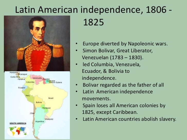 Latin american independence essay