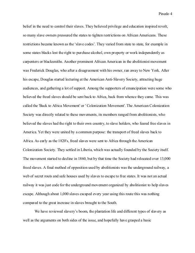Black history essay examples