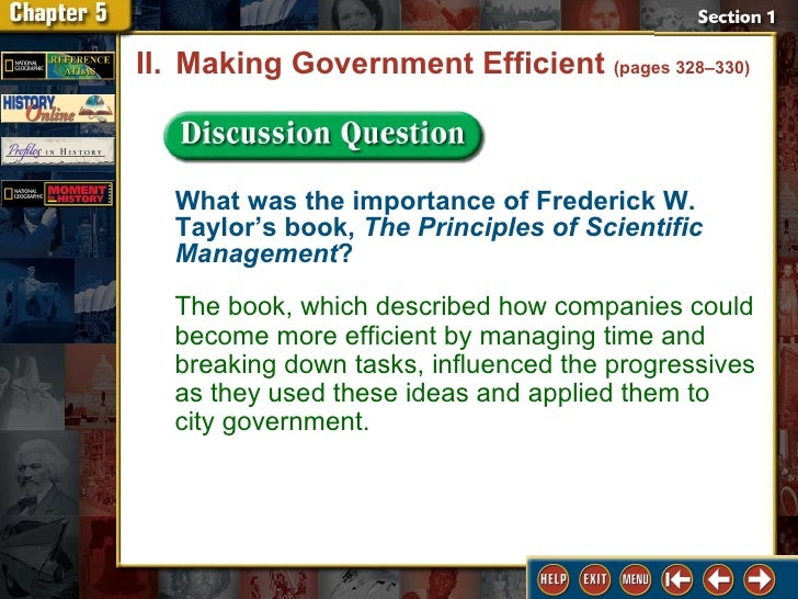 frederick w taylor s scientific management principles relevance and validity Frederick winslow taylor is a controversial figure in management history  and  taylor's keystone book, the principles of scientific management is now   though worded in a patronizing way the essence of the descriptions are still valid : [20.