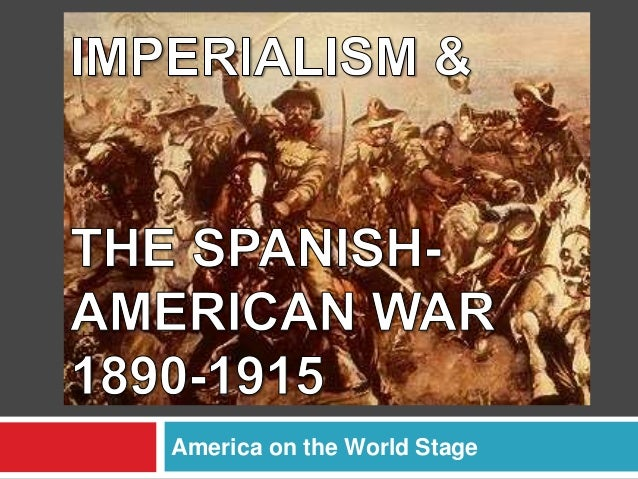 A history on the american imperialism