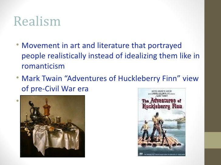 A romantic view of society in the novel huckleberry finn by mark twain