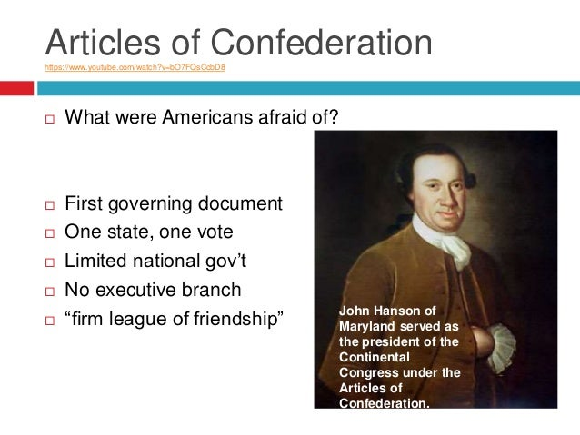 a brief history of the articles of confederation In 1777 articles of confederation were drawn up which joined the states into a loose federation they were adopted in 1781 a brief history of arizona.