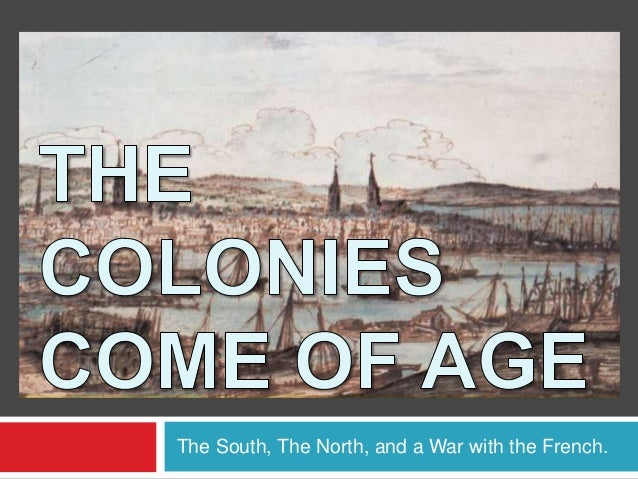The South, The North, and a War with the French.