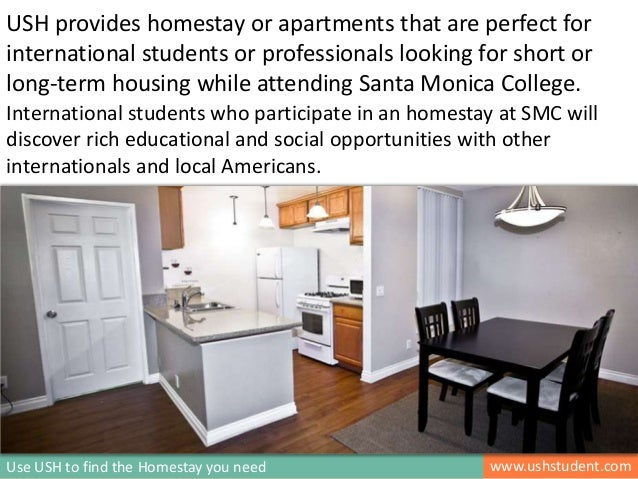 International Homestay Services for Santa Monica College Students in
