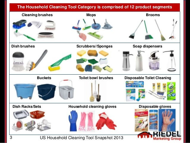 cleaning tools names