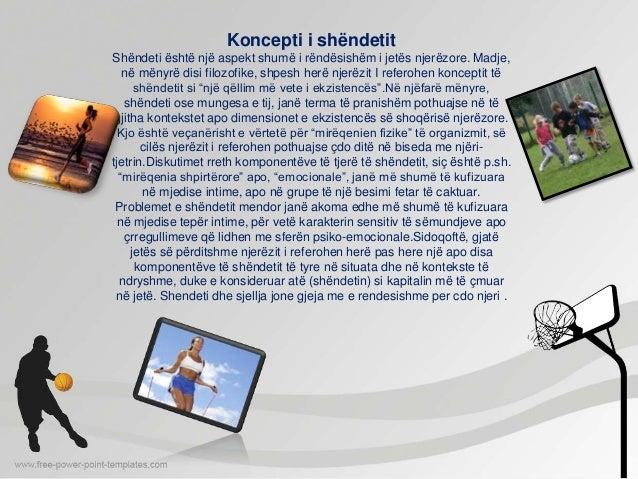 Ushtrimet fizike mbi shendetin Slide 3