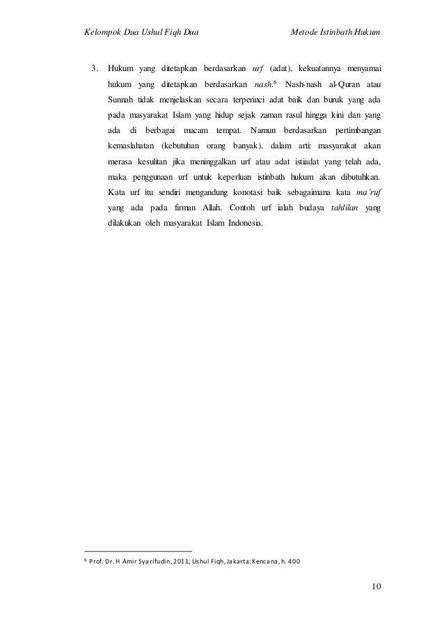 Ushul fiqh amir syarifuddin pdf buku