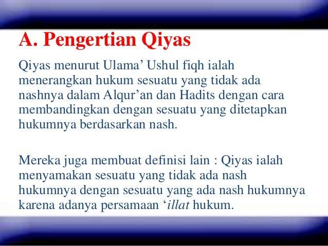 Qiyas Ushul Fiqh Powerpoint Miftah Ll Everafter
