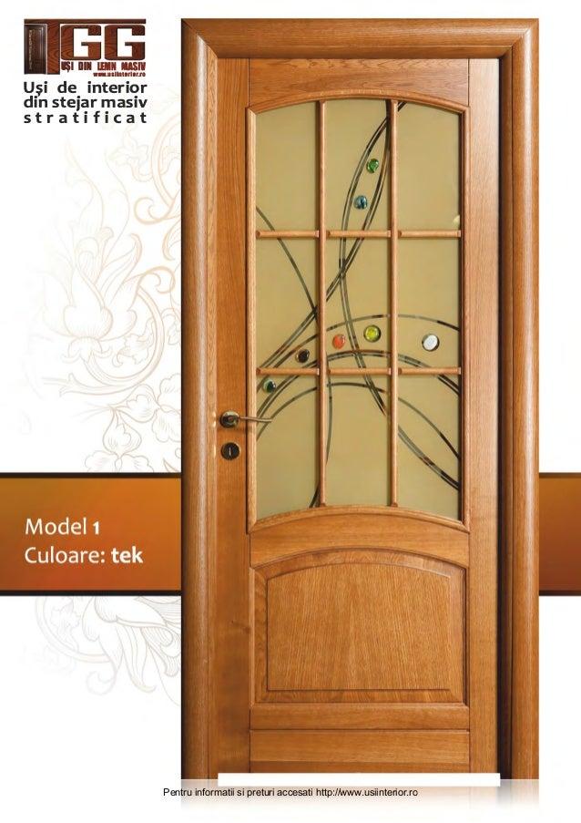 Usi de interior din lemn masiv for Usi de interior