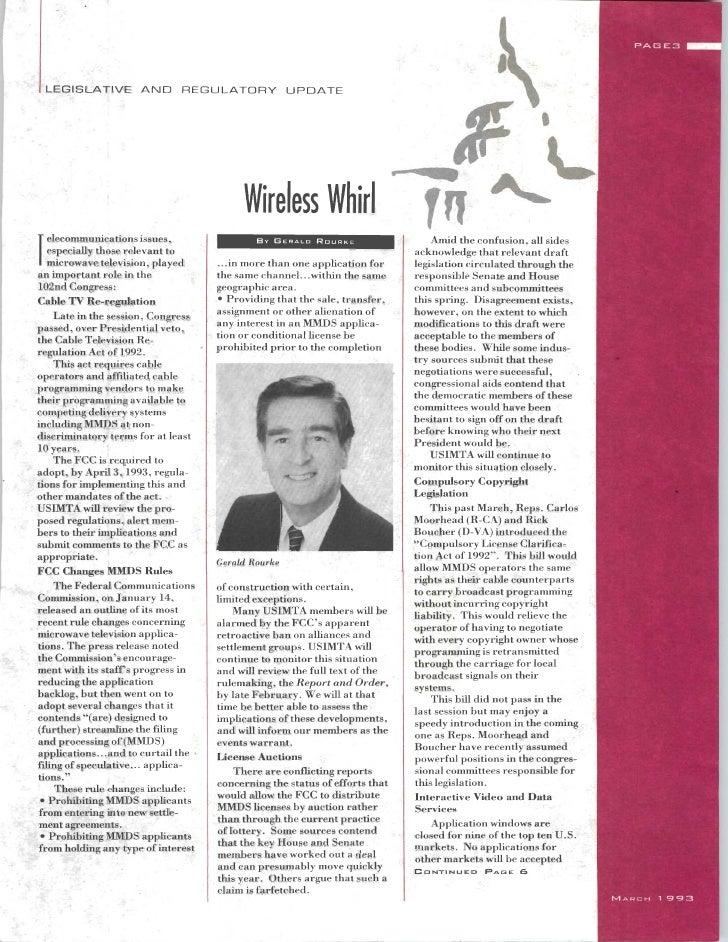 USIMTA NEWSLETTER SPRING 1993 Slide 3